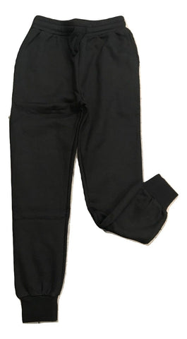 Little Eleven Paris Black Sweatpant