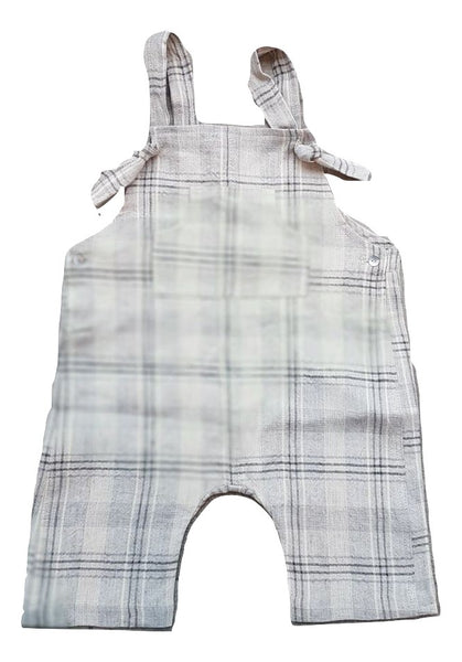 Message in the Bottle Franz Checked Romper