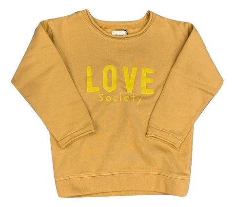 The New Society Love Camel Sweater