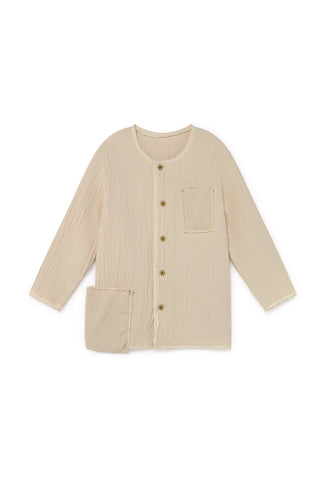 Little Creative Factory Cream Quilted Jacket