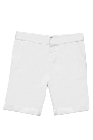 Les Petits Inclassables Optic White Felix Shorts