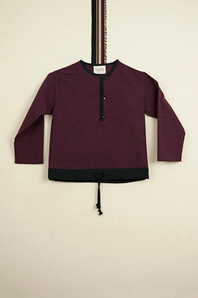 Popelin Burgundy Shirt