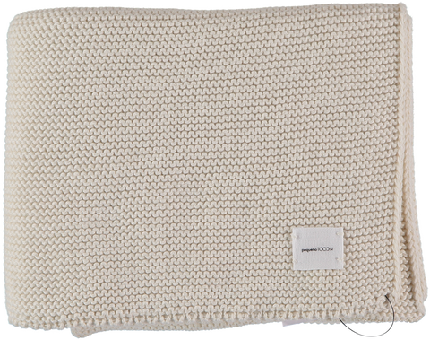 Pequeno Tocon Natural Ribbed Blanket