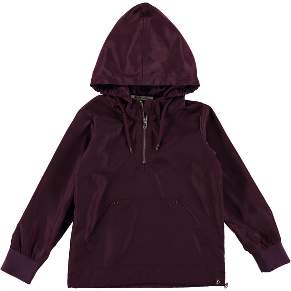 The New Society Burgundy Phoenix Rain Jacket