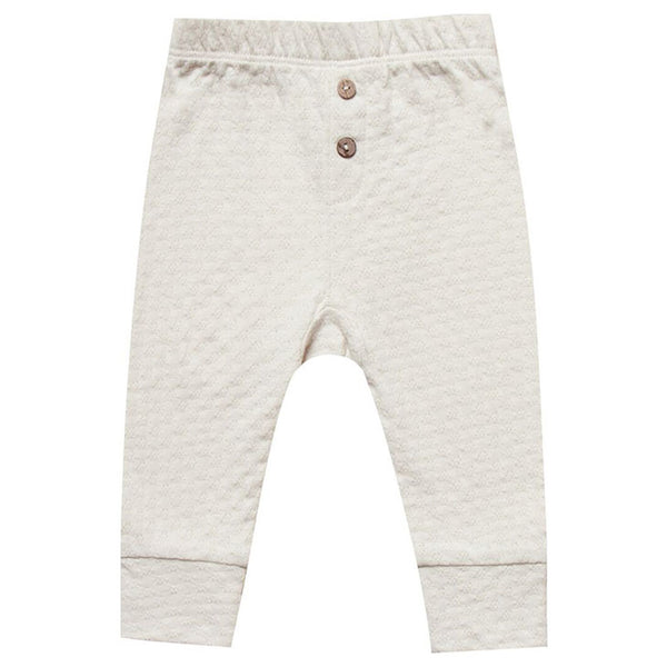 Quincy Mae Pebble Pointelle Pajama Pants
