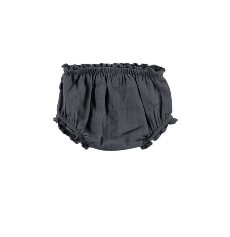 Mini Sibling Charcoal Confetti Cotton Bloomer