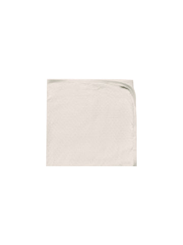 Quincy Mae Natural Pointelle Baby Blanket