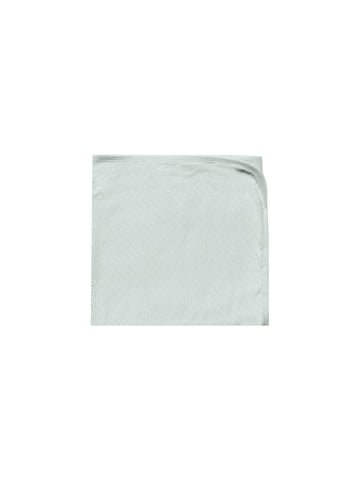 Quincy Mae Sea Glass Pointelle Baby Blanket