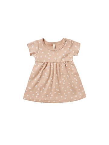 Quincy Mae Blossom Petal Short Sleeve Baby Dress