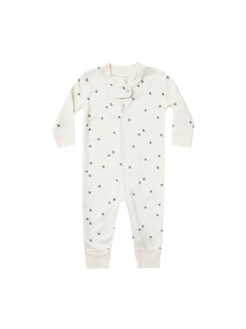 Quincy Mae Ivory Zip Long sleeve Sleeper