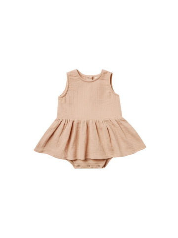Quincy Mae Petal Skirted Tank Onesie