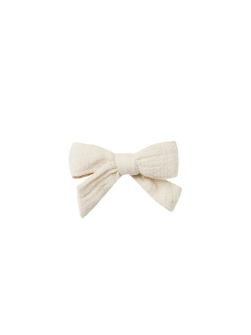 Quincy Mae Natural Schoolgirl Bow