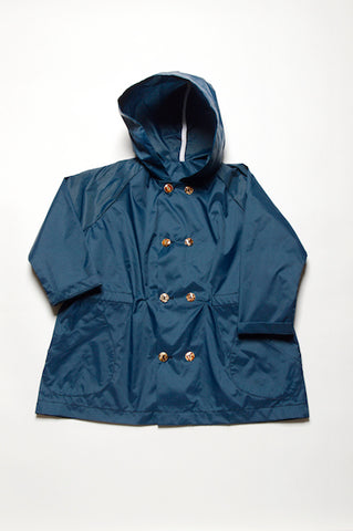 Leoca Navy Rain Jacket