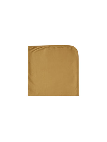 Quincy Mae Ocre Ribbed Blanket