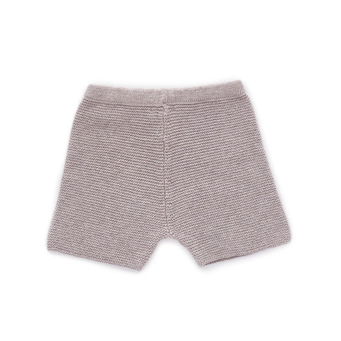 Oeuf Light Grey Knit Shorts