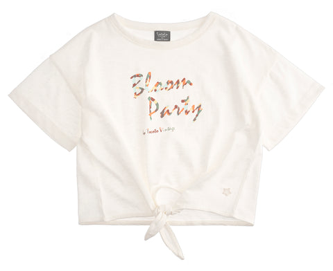 Tocoto Vintage Off White Bloom Party T-shirt