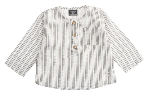 Tocoto Vintage Off White Stripe Shirt