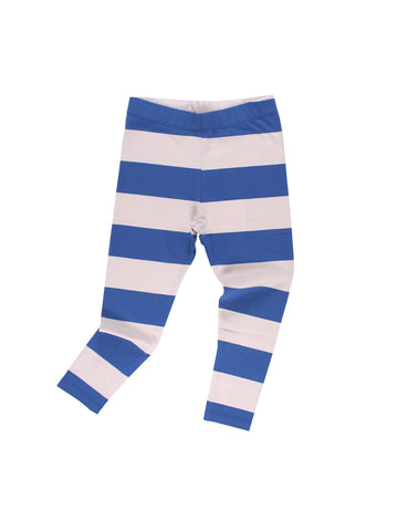 Tinycottons Blue Big Stripes Pant