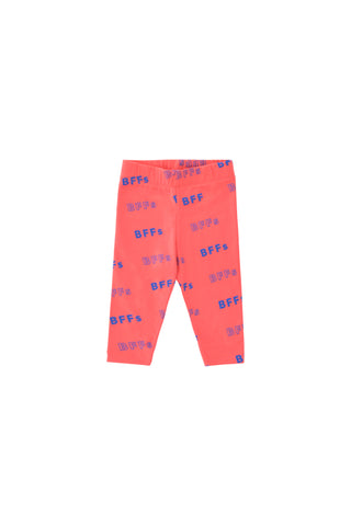 Tinycottons Light Red Bff Pant