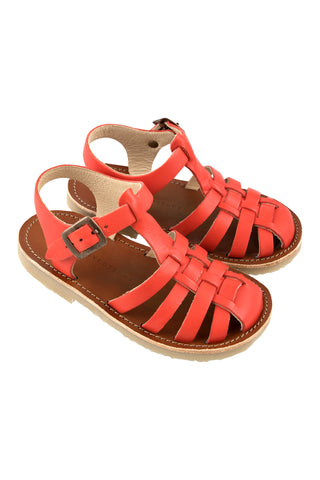 Tinycottons Red Braided Sandals