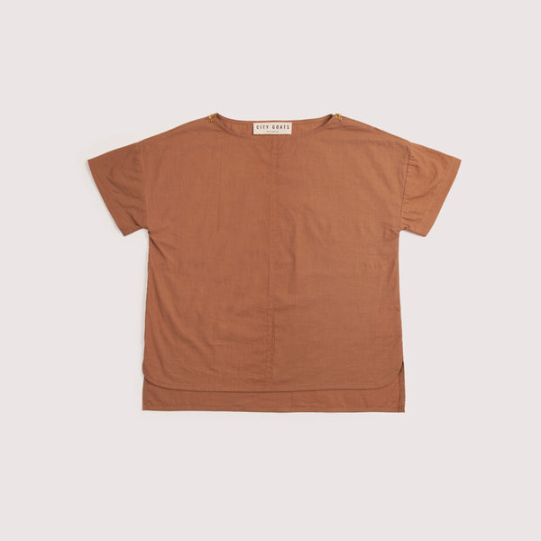 City Goats Burnt Umber City Reimagined Top