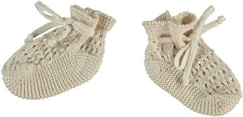 Violeta E Federico Knit Joe Booties