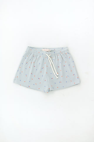 Tinycottons Pale Grey Sticks Short