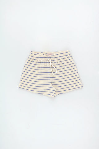 Tinycottons Light Cream Stripes Short Short