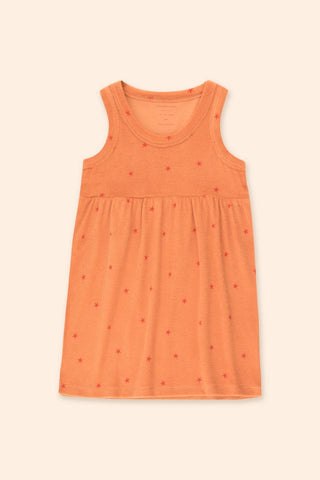 Tinycottons Papaya Starfish Dress