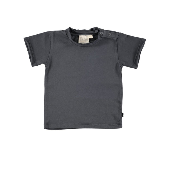 Mini Sibling Charcoal Short Sleeve Tee
