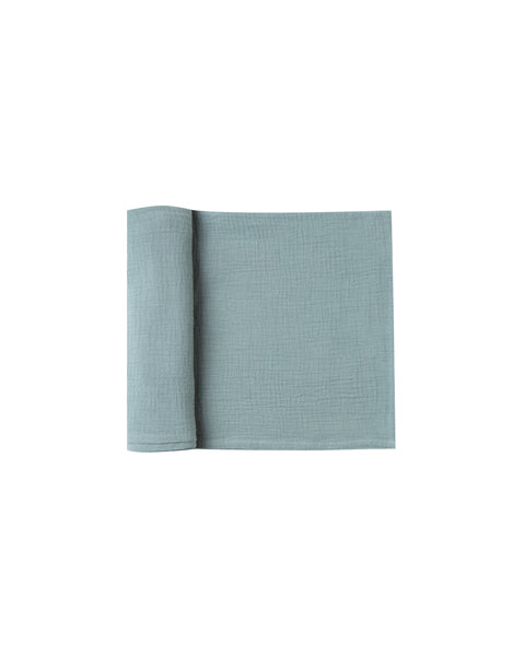 Rylee & Cru Dusty Blue Swaddle