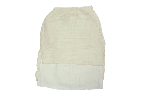 Tambere Cream Cut Skirt
