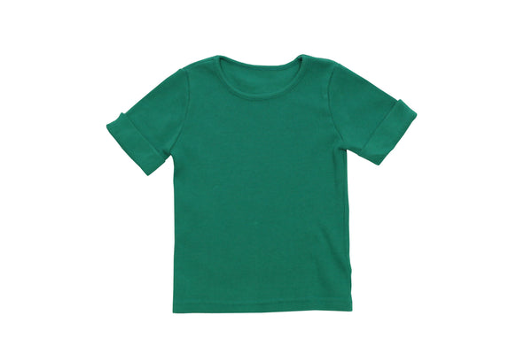 Tambere Green Short Sleeve Top