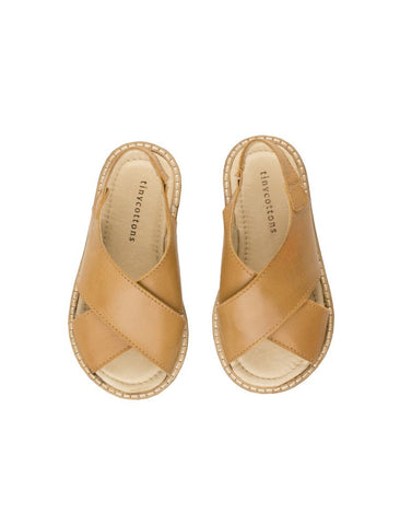 Tinycottons Crepe Crossed Sandals