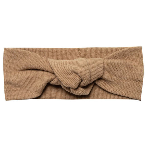 Quincy Mae Copper  Ribbed Baby Turban
