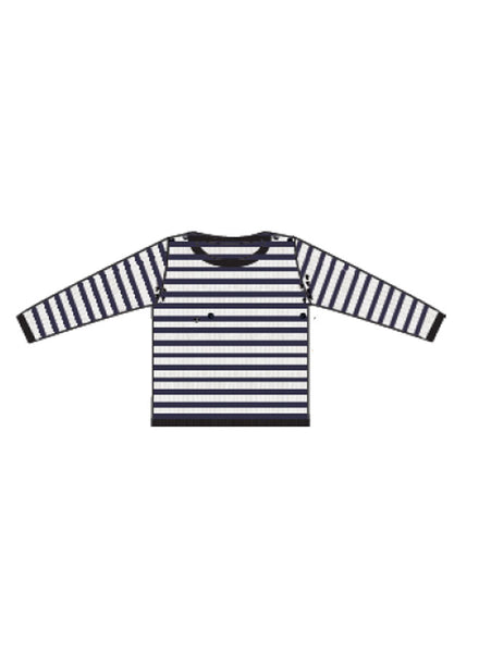 Cyrillus Blue Stripes Sweater