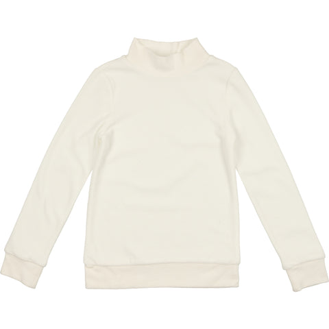 Coco Blanc Cream Velour Sweatshirt