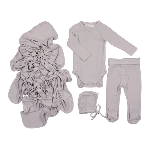 Coco Blanc Light Grey Gift Set