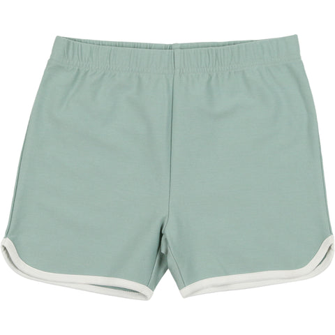 Coco Blanc Sage Green French Terry Shorts