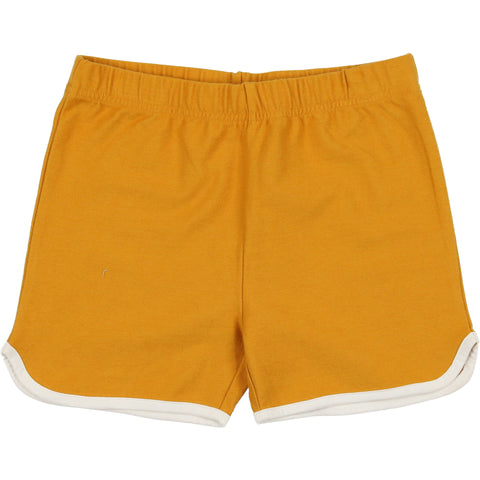 Coco Blanc Spicy Mustard French Terry Shorts