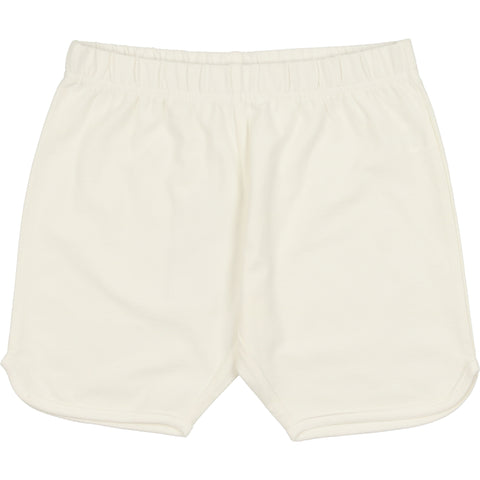 Coco Blanc Cream French Terry Shorts