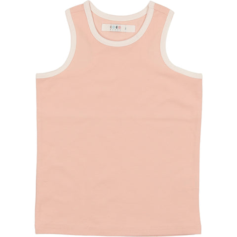 Coco Blanc Smoky Rose French Terry Tank