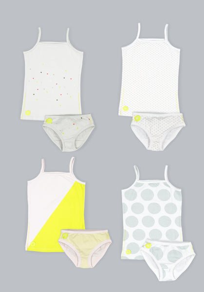 Dott Child Girls Sleeveless 8 pc Undies Set