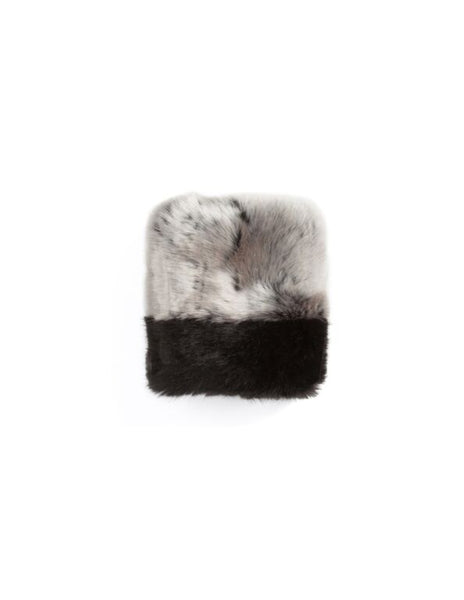 Omamimini Los Angeles Faux Fur Cuff