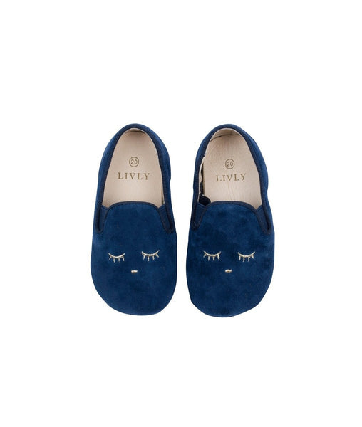 Livly Blue Sleeping Cutie Loafers
