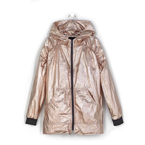 Andorine Golden Metallic Jacket