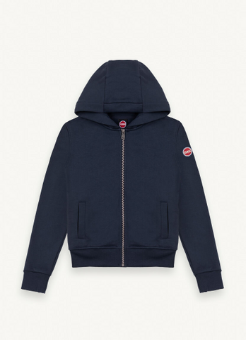 Colmar Black Hooded Zip Up Sweater