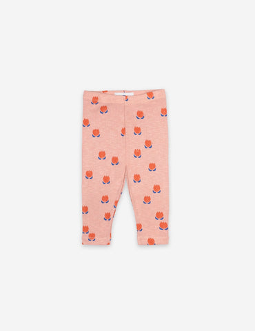 Bobo Choses Baby Chocolate Flowers All Over Leggings