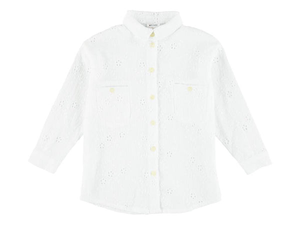 Morley Ben Moon White Shirt
