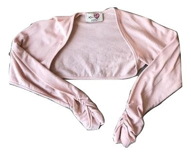 KI PRETTY Pink Cropped Cardigan
